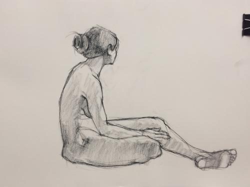 Róisín sitting